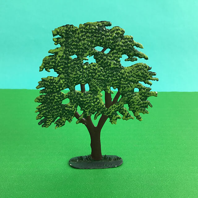 GERMAN PEWTER MINIATURE TREE