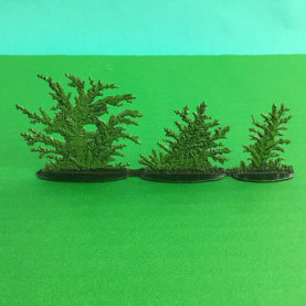 GERMAN PEWTER BUSH GROUP SUMMER