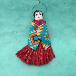 NAVAJO YARN DOLL ORNAMENT BY ELSIE NELSON