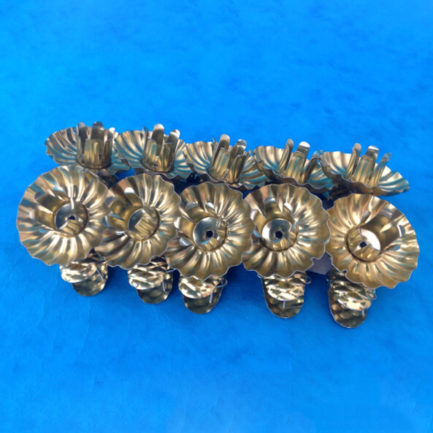 CANDLE CLIPS (GOLD) SET OF TEN