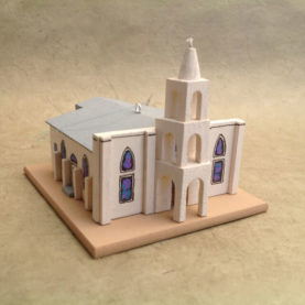 OUR LADY OF GUADALUPE IN TORTUGAS CHURCH MODEL