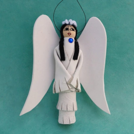 NAVAJO ANGEL ORNAMENT BY ELSIE NELSON