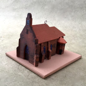 SAN JUAN PUEBLO CHURCH MODEL