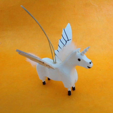 NAVAJO WINGED UNICORN BY PAUL BEGAYE