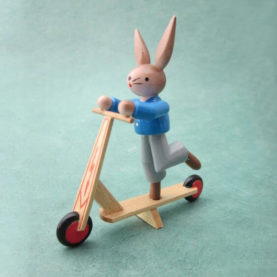EAST GERMAN SCOOTER BUNNY