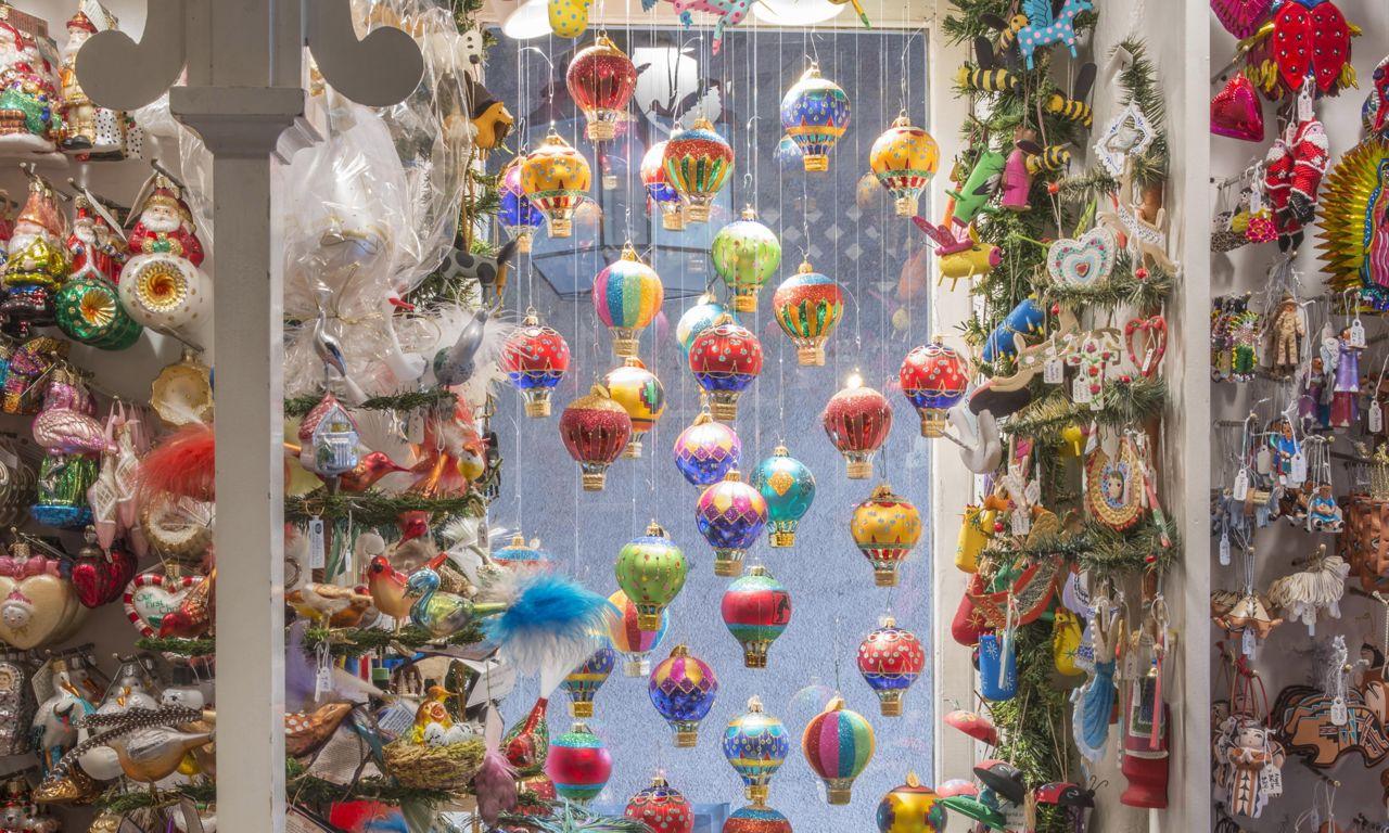 Susan Christmas Shop Ornaments