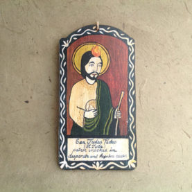 SAN JUDAS TADEO RETABLO ORNAMENT BY LYNN GARLICK
