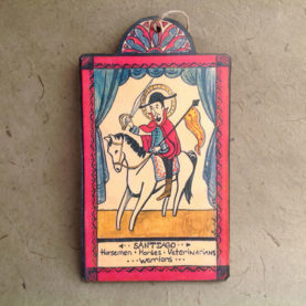 SANTIAGO RETABLO ORNAMENT BY LYNN GARLICK