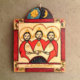 LA TRINIDAD RETABLO ORNAMENT BY LYNN GARLICK