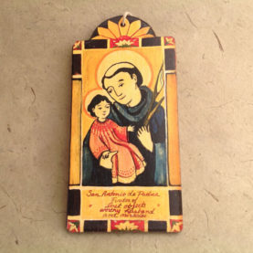 SAN ANTONIO RETABLO ORNAMENT BY LYNN GARLICK