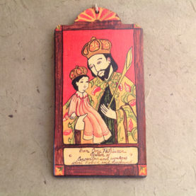 SAN JOSE RETABLO ORNAMENT BY LYNN GARLICK