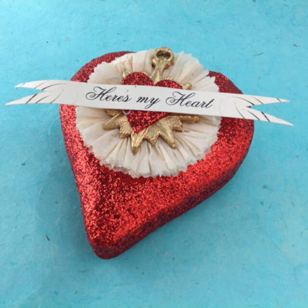 """HERE'S MY HEART"" BOX - SMALL"