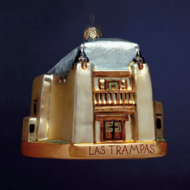 Las Trampas Glass Ornament