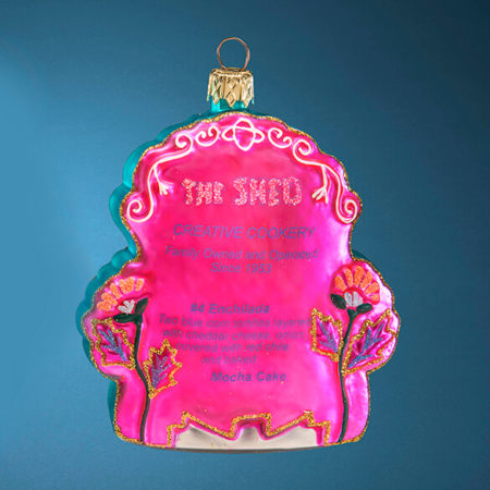 THE SHED GLASS ORNAMENT