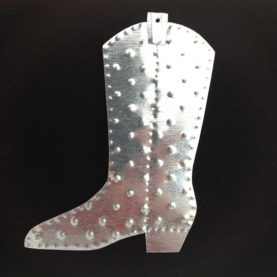 TIN BOOT ORNAMENT