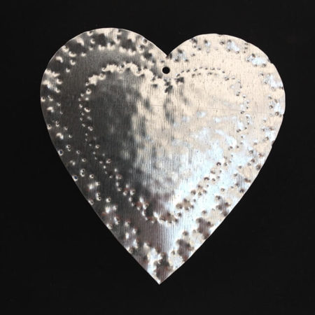 TIN HEART ORNAMENT