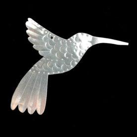 TIN HUMMINGBIRD ORNAMENT