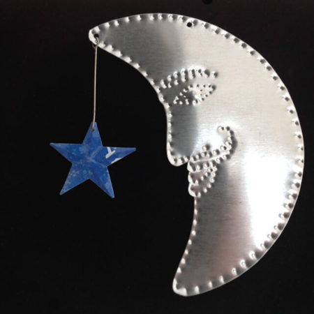 TIN MAN IN THE MOON ORNAMENT