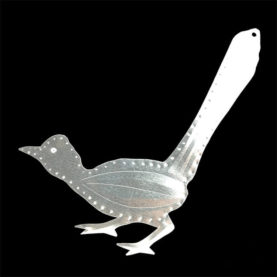 TIN ROADRUNNER ORNAMENT