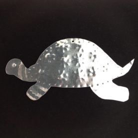 TIN TURTLE ORNAMENT