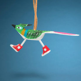 NAVAJO ROADRUNNER ORNAMENT BY CHANDLER BEGAYE