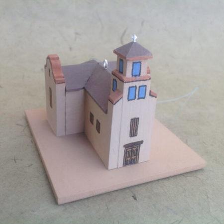 SANTUARIO DE GUADALUPE CHURCH MODEL