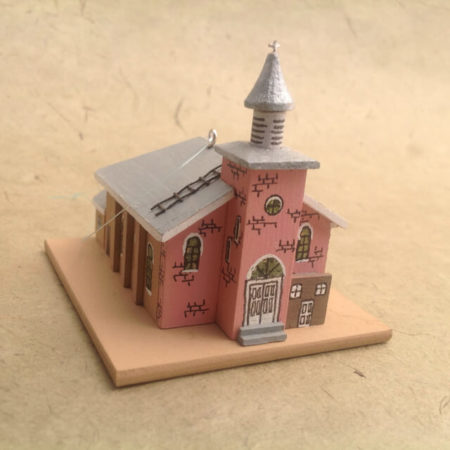 WAGON MOUND CHURCH MODEL