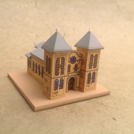 MESILLA CHURCH MODEL