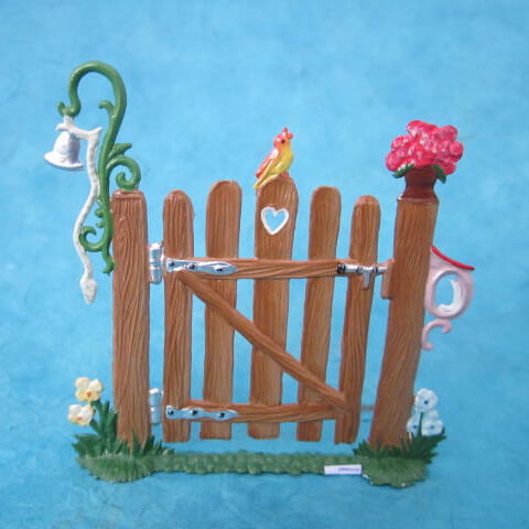 GERMAN PEWTER SUMMER GARDEN GATE