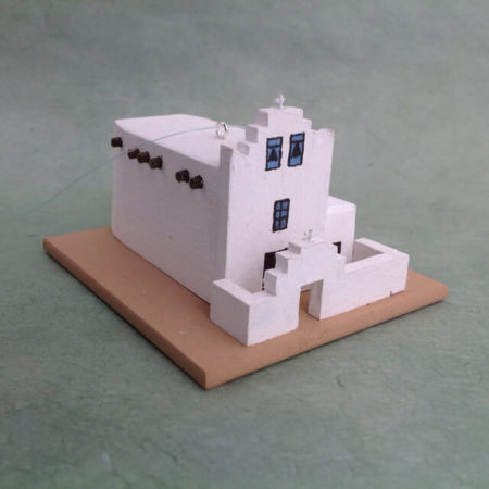LAGUNA PUEBLO CHURCH MODEL