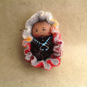NAVAJO BABY ORNAMENT BY SYLVIA BEGAYE