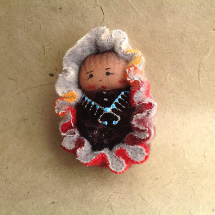 NAVAJO BABY ORNAMENT BY SYLVIA BEGAYE