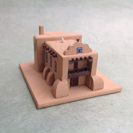 ABIQUIU CHURCH MODEL
