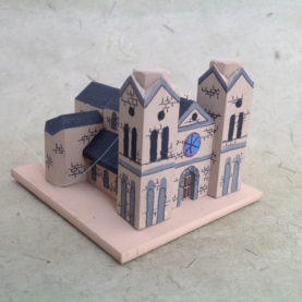 CATHEDRAL BASILICA OF ST FRANCIS CHURCH MODEL
