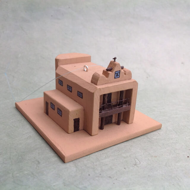 COCHITI PUEBLO CHURCH MODEL