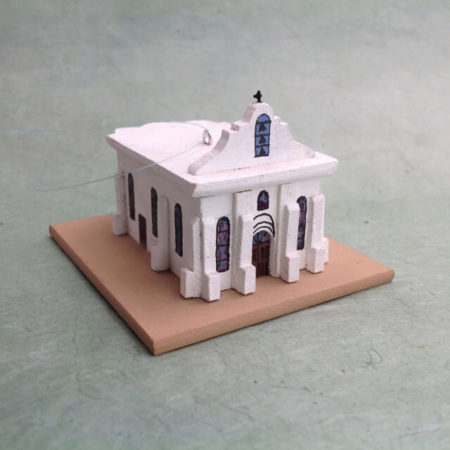 SAN ELIZARIO, TEXAS CHURCH MODEL
