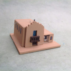 FIRST PRESBYTERIAN IN TAOS CHURCH MODEL