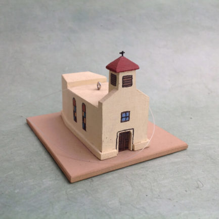 SAN ISIDRO AGUA FRIA CHURCH MODEL
