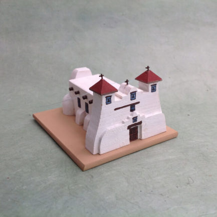 ISLETA PUEBLO CHURCH MODEL