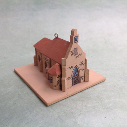 SAN JUAN PUEBLO CHURCH MODEL