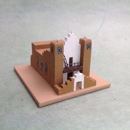 TAOS PUEBLO CHURCH MODEL