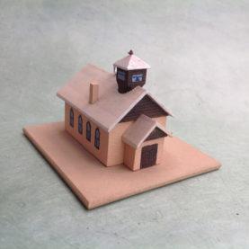 TRES PIEDRAS CHURCH MODEL