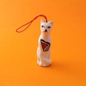 TALL ACOMA CAT ORNAMENT BY PRISCILLA JIM