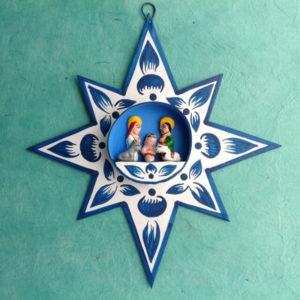 PERUVIAN NATIVITY STAR ORNAMENT