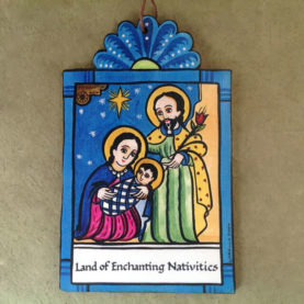CHARLIE CARRILLO NATIVITY RETABLO