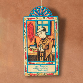 SAN PASQUAL RETABLO ORNAMENT BY LYNN GARLICK