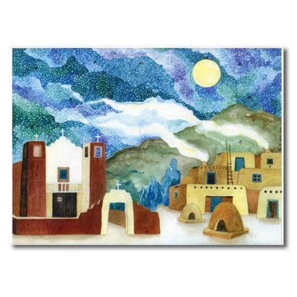 PUEBLO VILLAGE ADVENT CALENDAR