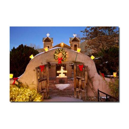 NEW MEXICO CHRISTMAS, SANTUARIO DE CHIMAYO - 10 CARDS BOX