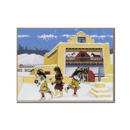 SANTO DOMINGO CHURCH - 9 CARDS BOX BY DOUGLAS JOHNSON