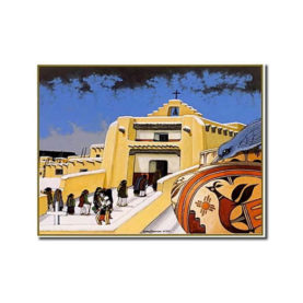 NUESTRA SENORA DE LA ASUNCION, ZIA - 9 CARDS BOX BY DOUGLAS JOHNSON